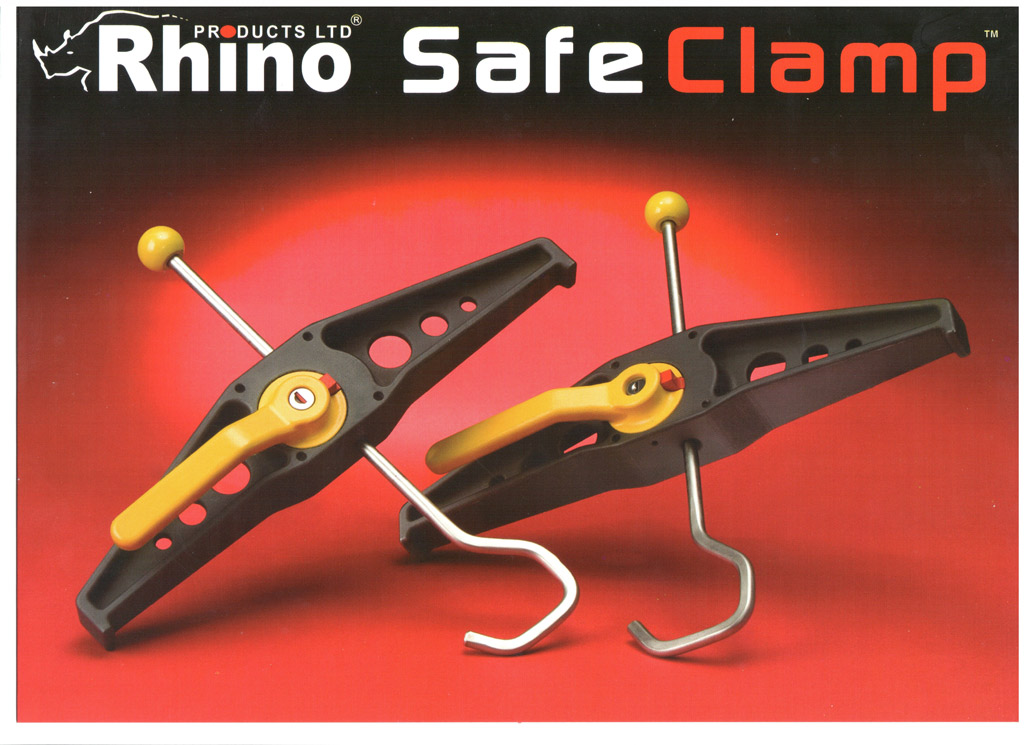 Фиксаторы лестниц RHINO SafeClamps со склада в Москве